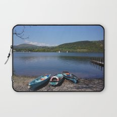 The Lake District - Boating on the Lake Laptop Sleeve