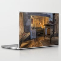 kitchen Laptop & iPad Skins featuring Olde Kitchen by Ian Mitchell
