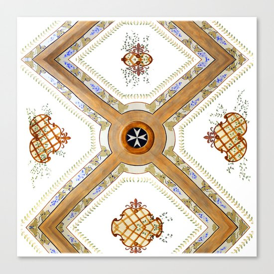 A Glass Ceiling Canvas Print