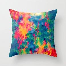 Summer Swirl Throw Pillow