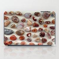 agate iPad Cases featuring agate,gemstone by ira gora