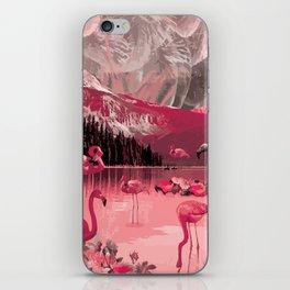 Flamingo Land iPhone Skin