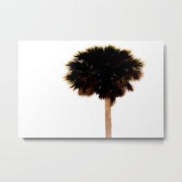 Palm Tree Minimal Print Metal Print