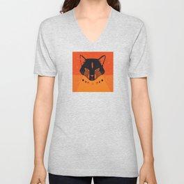Black Cat Mystic Oracle Unisex V-Neck