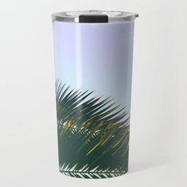 Palm Leaves  - Tropical Sky - Chilling Time Travel Mug