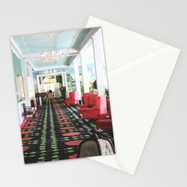 inside the Grand Hotel Stationery Cards