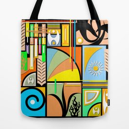 Graphic Design Tote Bag
