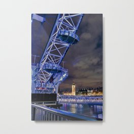 Big City Skyline Metal Print
