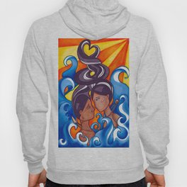 Two Lovers of Guam Hoody