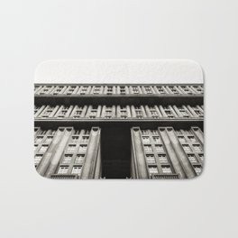Facade of a monumental residential building I Bath Mat