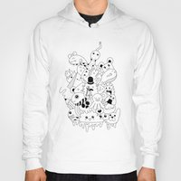 doodle Hoodies featuring Doodle by Malia León