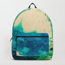 Retro Abstract Photography Underwater Bubble Design Backpack