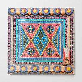 Saudi Colors Metal Print