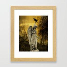 Golden Eclipse Framed Art Print