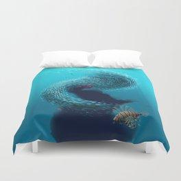 coral shelter Duvet Cover