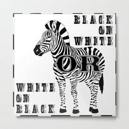 Racial equality Metal Print