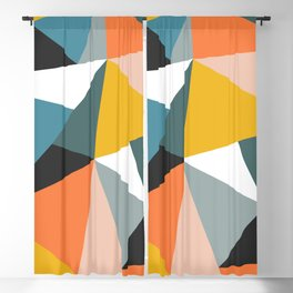Modern Geometric 36 Blackout Curtain
