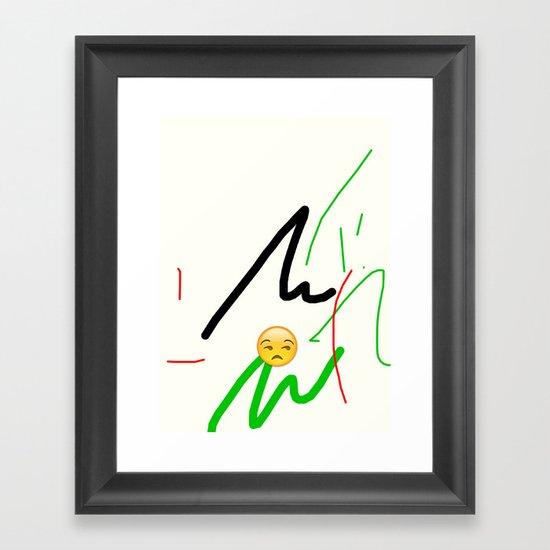 jh Framed Art Print