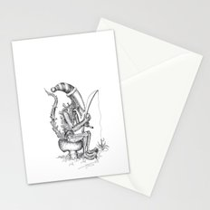 Alien gnome Stationery Cards