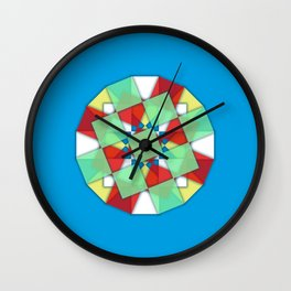 Mandaliscope 1 Wall Clock