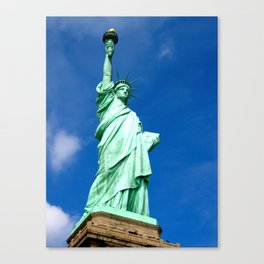 Staue of Liberty, New York Canvas Print