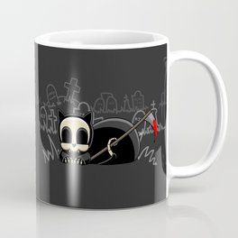 Grim Reapets - A Cat Named Coffin - Bloody Halloween Variant Coffee Mug