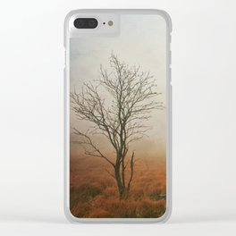 vanishing landscape Clear iPhone Case