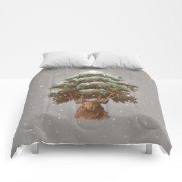 Reindeer Tree Comforters
