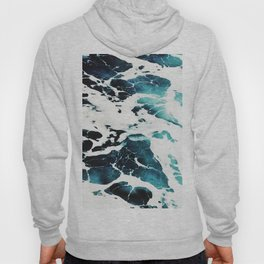 Dark Ocean Waves Hoody