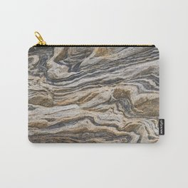 Marble Waves Carry-All Pouch