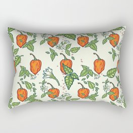 hot habanero Rectangular Pillow