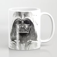 darth Mugs featuring Darth Vader by Olechka