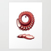 O is for Octopus Art Print