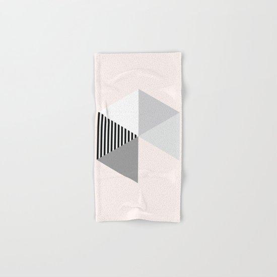 Minimalist Geometric Hand & Bath Towel