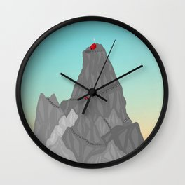 Left Behind // In Your Mind Wall Clock
