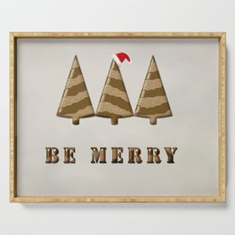 Be merry Serving Tray
