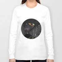 saturn Long Sleeve T-shirts featuring Saturn by Cs025