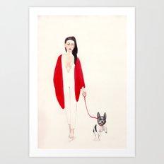 Frenchie Art Print