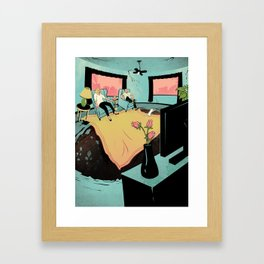"""The Sinkhole Hunters"" by Tara Jacoby for Nautilus Framed Art Print"