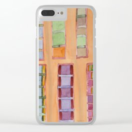 Standing and Hanging Pillars Clear iPhone Case