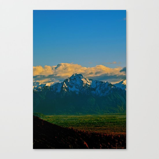 Pioneer Peak - Mat-Su Valley Canvas Print
