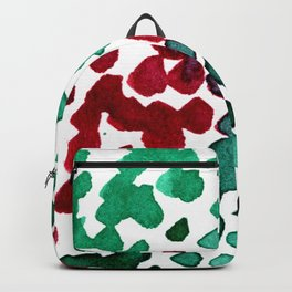 trickle no3...two hearts on grass Backpack