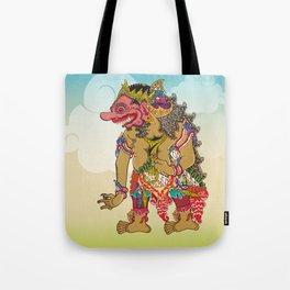 Kumbakarna character in Ramayana story Tote Bag
