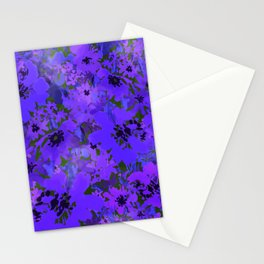 Heavenly Blue Garden Stationery Cards
