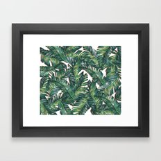 banana leaf 3 Framed Art Print