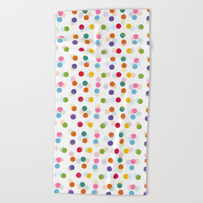Polka Dots Beach Towel
