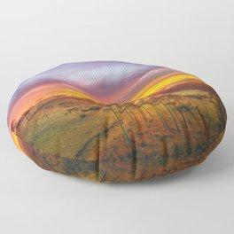 Araucaria Valley Floor Pillow
