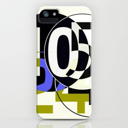 SRC Preparatins Race Numbers Two iPhone Case