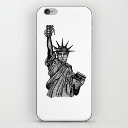 Statue of Suppression iPhone Skin
