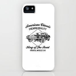 american clasic iPhone Case